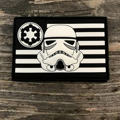 Image of Stormtrooper Flag Series 3D PVC Morale Patch