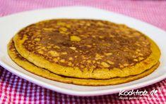 kochtrotz – Rezepte für Gluten-Unverträglichkeit, Fructose-Intoleranz, Laktose-Intoleranz, Histamin-Intoleranz, Zöliakie, Sorbit-Intoleranz, jetzt auch vegan und sojafrei - Kürbis-Pancakes glutenfrei