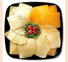 Meat and Cheese Platters. Perfect for those company or holiday parties. Meat Cheese Platters, Deli Platters, Deli Tray, Meat Trays, Cheese Fruit, Food Platters, Plateau Charcuterie, Party Trays, Food Displays