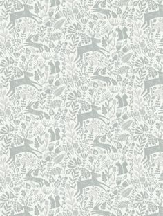 Scion's Kelda  in pewter is taken from the Levande wallpaper collection.