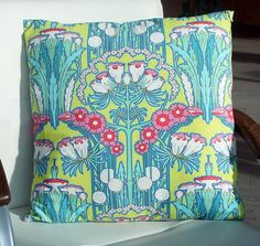 Amy Butler Fuschia Tree pillow cover 16 inch by MintDesign on Etsy