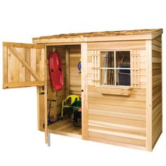 Cedarshed Bayside Lean-to in 4 sizes | eBay Lean To Shed Plans, Diy Shed Plans, Storage Shed Plans, Tool Storage, Wooden Storage Sheds, Wooden Sheds, Firewood Storage, Shed Design, Roof Design