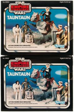 Tauntaun  Released in 1980 by Kenner