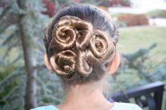 Spiral Twisty Bun Hairstyle