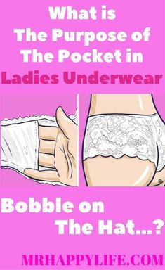 9e2aadd752 WHAT IS THE PURPOSE OF THE POCKET IN LADIES UNDERWEAR