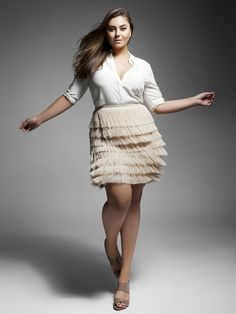 plus size fashion    Plus Model Caralyn Mirand Enrique Vega Photography Heather Dinneen Styling Johanna Javier H