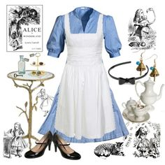 Alice Disneybound outfit/ halloween?