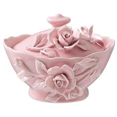 Rambling Rose Sugar Bowl from Domayne