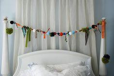 Casa de Retalhos: Enfeitando com pompons ♥ Fun designs with pom-poms