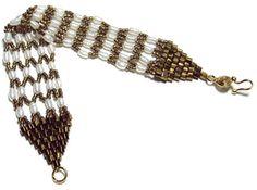 Netted Pearl Bracelet