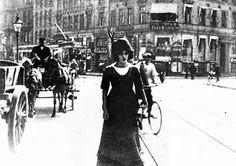Asta Nielsen in Afgrunden, 1910.