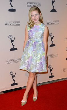 Kiernan Shipka - The Academy Of Television Arts & Sciences Writer Nominees' 64th Primetime Emmy Awards Reception