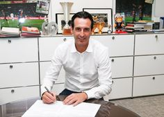 Paris Saint-Germain appoints Spaniard Unai Emery as their new coach on a two-year contract. | 1hrSPORT