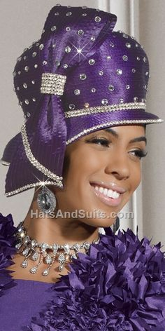 Donna Vinci Couture Church Hat H2108