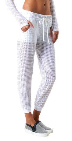 Shorts + Mesh = Sweatpant perfection