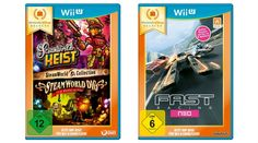 [Tagesangebot]  SteamWorld Collection und FAST Racing NEO (Nintendo  eShop Selects) [Wii U] zu je 997