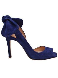 Carven open toe heels