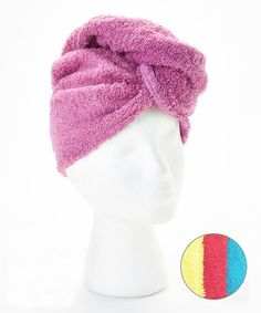 Loving this Calypso Hair Towel - Set of Four on #zulily! #zulilyfinds