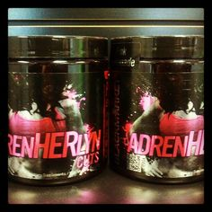Now In STOCK! Pre Workout Especially Designed For The Ladies! No Creatine, No Carbs, No Sugar, No Filler! Plus The Flavors are AWESOME! Pink Lemonade and Kiwi Strawberry.     AdrenHERlyn Also Helps You Burn More Fat During Your Workout With Proven Ingredients: Raspberry Ketones and Advantra Z!    Brining SEXY Back