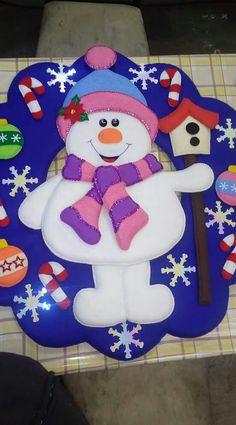 Diy Christmas Tree, Christmas 2016, Christmas Projects, Christmas Stockings, Christmas Wreaths, Merry Christmas, Christmas Decorations, Handmade Christmas, Snowman Crafts