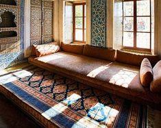 Outdoor Sofa, Indoor Outdoor, Floor Couch, Floor Cushions, Living Room Sofa, Living Room Decor, Living Room Without Sofa, Shisha Lounge, Floor Sitting
