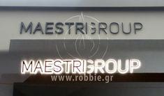 Επιγραφή – Maestri Group (www.maestrigroup.eu) Η εταιρεία Maestri Group επέλεξε την εταιρεία μας για τη κατασκευή και τοποθέτηση της επιγραφής τους. Η εταιρεία Maestri Group δραστηριοποιείται στον σχεδιασμό, την παραγωγή & εμπορία γυναικείων βραδινών ενδυμάτων. Την ταυτότητα της προσ