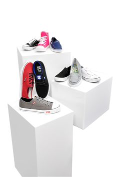 Canvas shoe styles for the whole family at Burkes Outlet! #BurkesOutlet #youniquelyyou