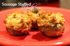 Harris Sisters GirlTalk: Sausage Stuffed Mushrooms Appetizer (Perfect for Super Bowl Sunday!)
