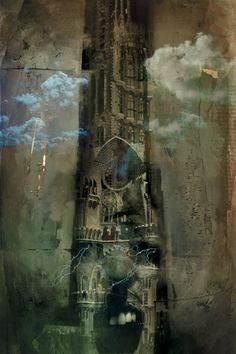 Dave McKean ~ Stephen King's Wizard and Glass