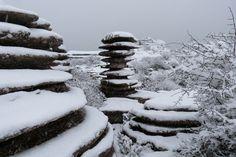 El Torcal, Antequera, Mälaga, (ES)  presentaba este aspecto tras las nevadas de los últimos días.