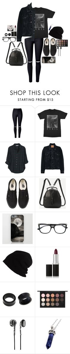 """""""My story character is going on an adventure"""" by twocigarettes ❤ liked on Polyvore featuring WithChic, Xirena, Balenciaga, Vans, Gucci, SCHA, Le Métier de Beauté, NOVICA, MAC Cosmetics and Frends"""
