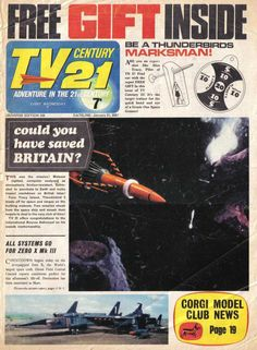 Pulp Fiction, Science Fiction, Joe 90, Thunderbirds Are Go, Days Of Future Past, Classic Sci Fi, My Youth, Comic Covers, 21st Century
