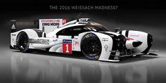 2016 Porsche LMP1 Le Mans Concept