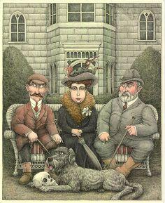 Tim Raglin - Big Time Illustrator » English Portrait