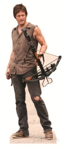 The Walking Dead - Daryl Dixon Lifesize Standup Cardboard Cutouts at AllPosters.com