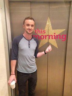 This Morning -ITV  ~  Tom Felton
