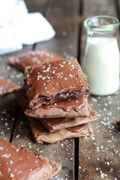 Homemade Chocolate Fudge Poptarts--halfbakedharvest.com