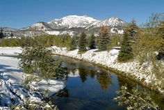 Mammoth Lakes California.