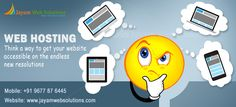Web hosting company in Chennai offering Shared & dedicated hosting, Cloud hosting, Reseller Web hosting services for various web development requirements. http://www.jayamwebsolutions.com/web-hosting-in-chennai.php