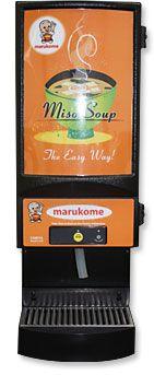 Per gli amanti della zuppa di miso:Dispenser-Powder!