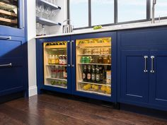 sub-zero has undercounter fridges. doors or pull-out drawers.