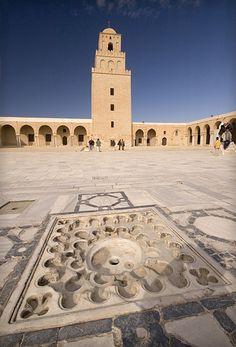 The Great Mosque in Kairouan