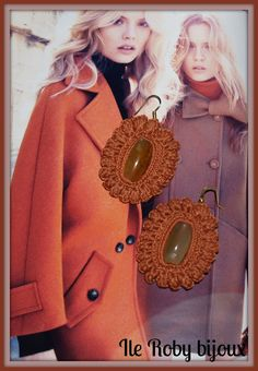 Ile Roby bijoux: Uncinetto  - crochet earrings