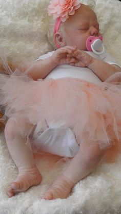 Beautiful Reborn Baby Girl Doll from  Jacelyn  sculpt by Donna RuBert