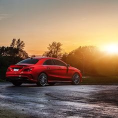 Enjoying the sunset out in the Chicago suburbs after a nice cruise. #MBPhotoPass @jeremycliff