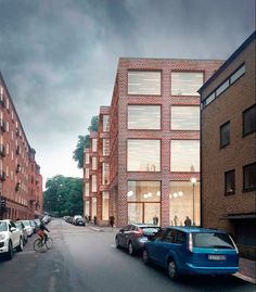 Tham & Videgård . New University buildings . Gothenburg (5)