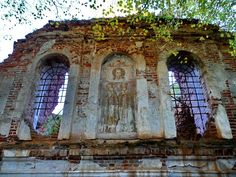 God-forsaken: Abandoned churches and cathedrals of Russia - 34 / Church of the Saviour, 1772-1777. The village of Ilyinskoye-Tolbuzino, Moscow Oblast