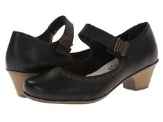 Rieker 42391 Mariah 91 Black - Zappos.com Free Shipping BOTH Ways