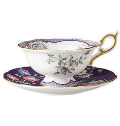 ウェッジウッド ワンダーラスト ミッドナイト クレーン ティーカップ&ソーサー – CRAFTS DESIGN Design Crafts, Tea Cups, Tableware, Clothes Crafts, Dinnerware, Tablewares, Dishes, Place Settings, Cup Of Tea