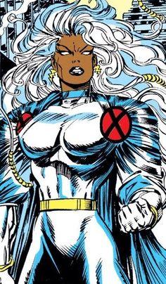 Storm Xmen, Storm Marvel, Comic Books Art, Comic Art, Marvel Art, Marvel Heroes, Marvel Women, Black Panther Marvel, Marvel Wallpaper